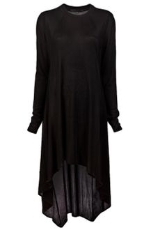 Alexander Wang Draped Long Sleeve Dress - Lyst