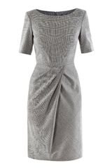 Max Mara Studio Prince Of Wales Check Dress - Lyst