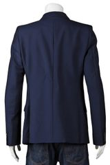 Alexander Mcqueen Classic Blazer in Blue for Men (navy) - Lyst