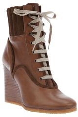 Chloé Wedge Boot - Lyst