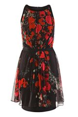 Giambattista Valli Poppy Print Dress - Lyst