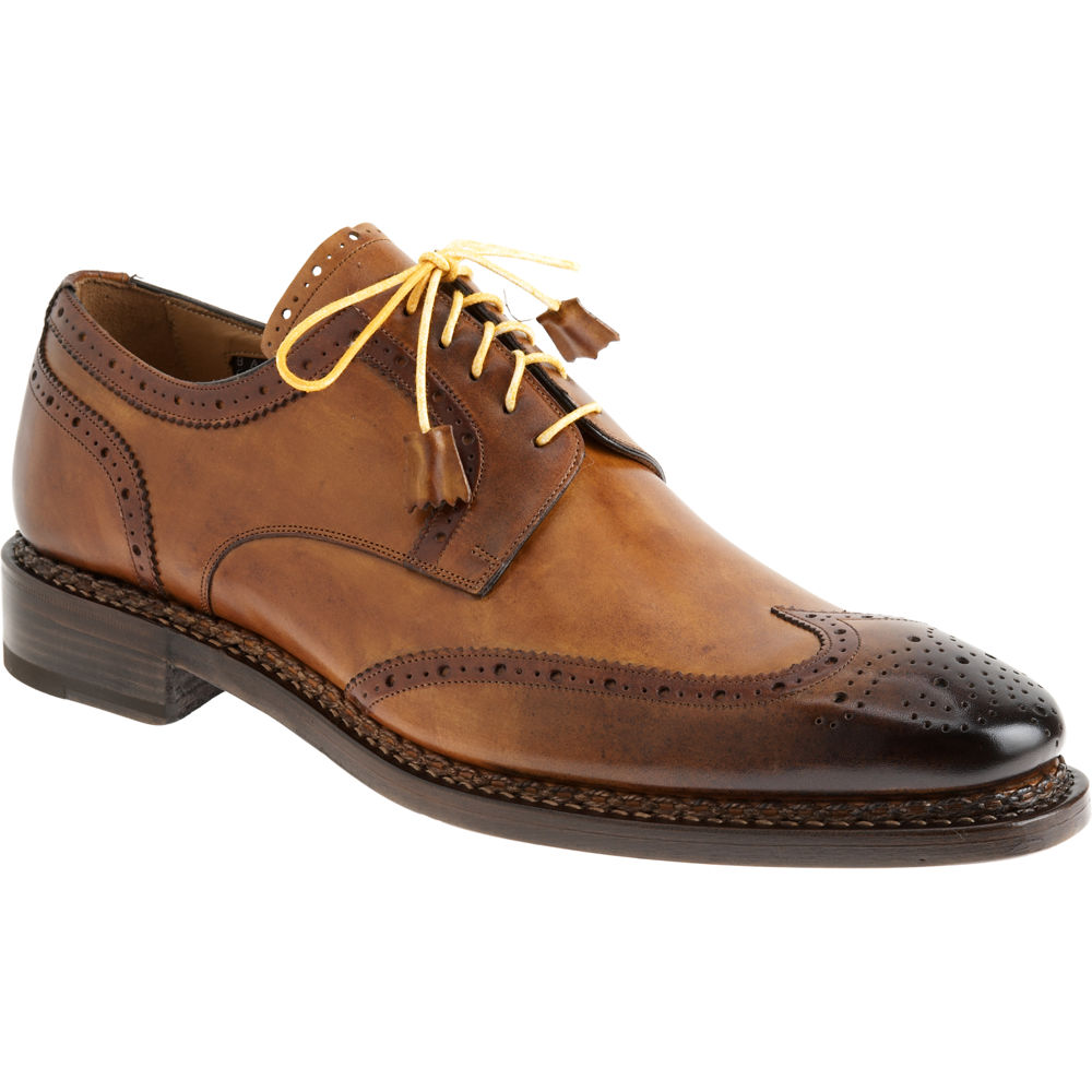 Womens Brown Wingtip Shoes