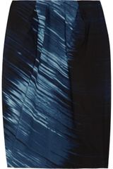Marni Printed Cotton Skirt - Lyst