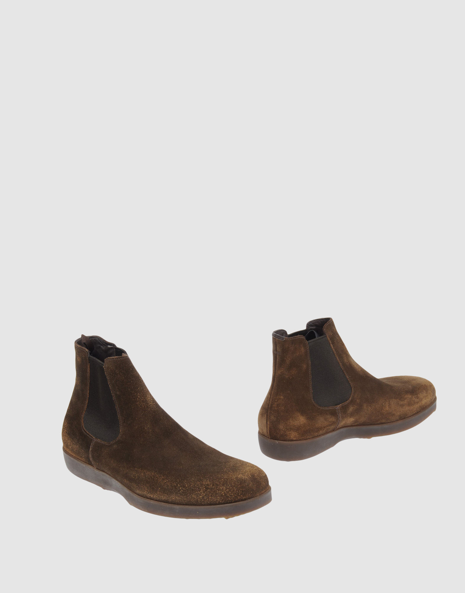 car shoe ankle boots in green for lyst