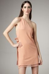 3.1 Phillip Lim One-shoulder Layered Dress - Lyst