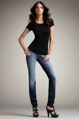 7 For All Mankind Roxanne Mollison Ombre Jeans - Lyst