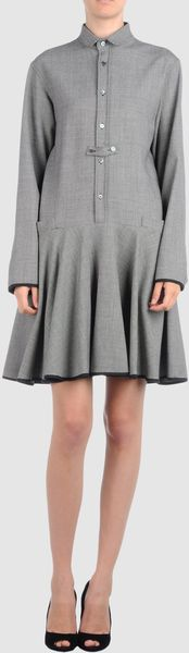 Alexis Mabille Short Dress - Lyst