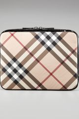 Burberry 13 Check Laptop Sleeve - Lyst
