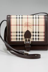 Burberry Check Crossbody Bag, Small - Lyst