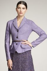 Dior Double-face Peplum Jacket - Lyst