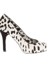 Dolce & Gabbana Dalmatian Print Pony Skin Shoe in Animal (black) - Lyst