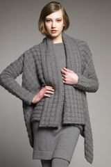 Donna Karan New York Textured Cashmere Cozy Sweater - Lyst