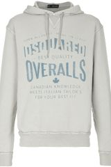 DSquared2 Hooded Sweater - Lyst