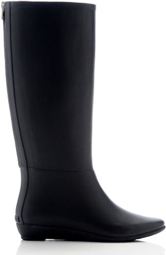 Loeffler Randall Lr Rain Boot with Back Zip - Lyst