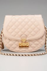 Marc Jacobs Saffron Flap-front Quilted Saddle Bag - Lyst