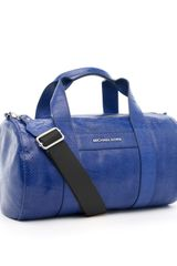 Michael by Michael Kors Ashland Large Duffle Bag, Cobalt - Lyst