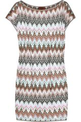 Missoni Aqaba Knitted Mini Dress - Lyst