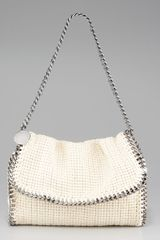 Stella McCartney Falabella Chain-trim Shoulder Bag - Lyst