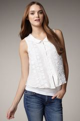 Textile Elizabeth And James Embroidered Benny Top - Lyst