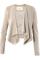Day Birger Et Mikkelsen Goat Suede Birch Jacket - Lyst