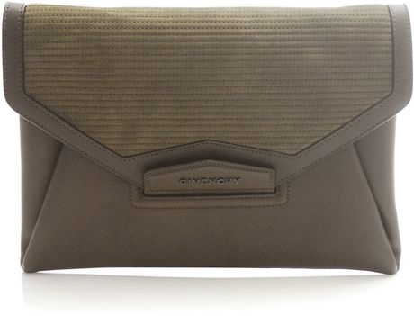 Givenchy Quilted Day Bag in Green (khaki) - Lyst