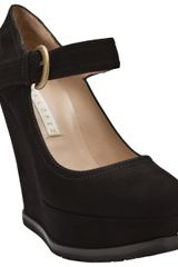 Pura Lopez Mary Jane Wedge