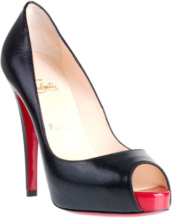 Christian Louboutin Very Privé 120 Calf Pump - Lyst