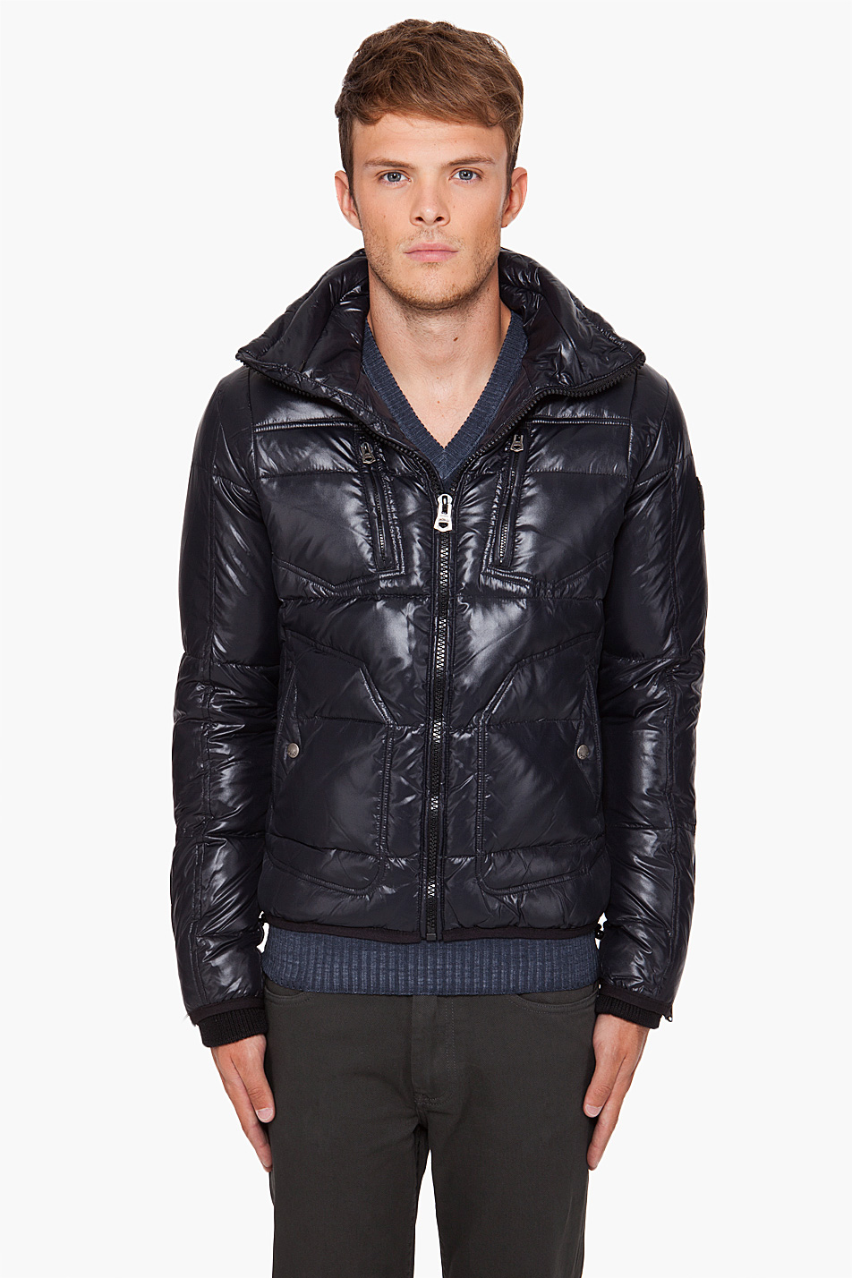 Cole Haan Men S Leather Jacket