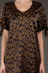 Paul By Paul Smith Printed Dress in Brown - Lyst