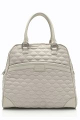 Lulu Guinness Stone Quilted Lips Medium Suzy - Lyst