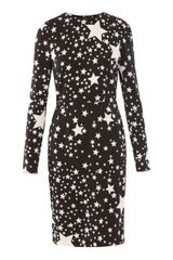 Dolce & Gabbana Multi-star Print Dress - Lyst