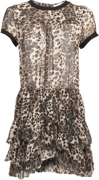 Isabel Marant Leopard Print Dress in Animal (leopard) - Lyst