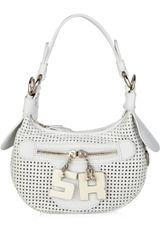 Sonia Rykiel Perforated Leather Mini Bag - Lyst