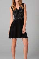 RED Valentino Polka Dot Dress - Lyst