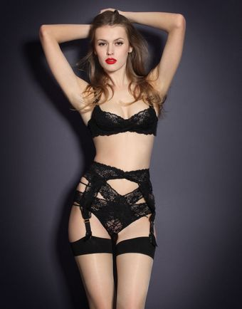 Agent Provocateur Margot Suspender - Lyst