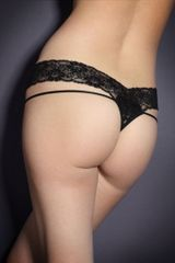 Agent Provocateur Margot Thong in Black - Lyst