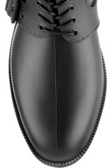 Givenchy Rubber Equestrian Boots in Brown (black) - Lyst