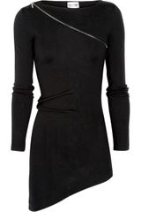 Philosophy di Alberta Ferretti Zip-embellished Wool Sweater - Lyst