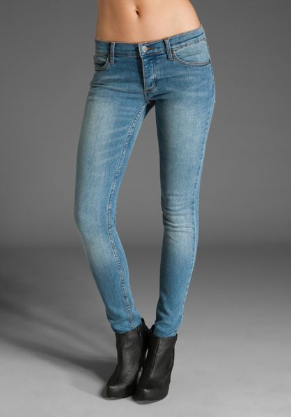 Cheap Monday Narrow in Blue - Lyst