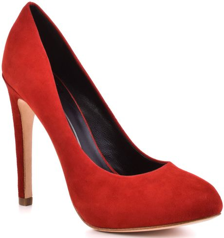Dolce Vita Rosetta  Red Suede in Red - Lyst