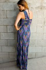 Mara Hoffman Twist Front Maxi Dress - Lyst