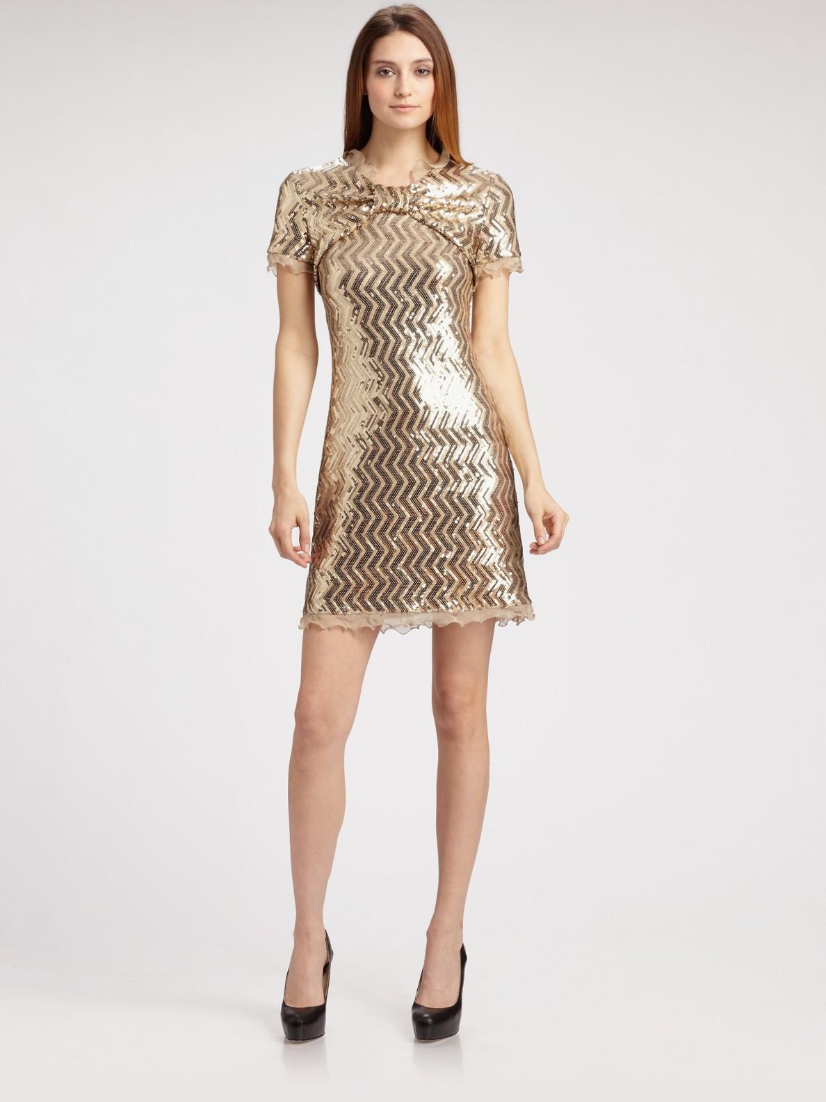 Cheap Gold Cocktail Dresses - Eligent Prom Dresses