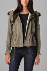 Textile Elizabeth And James Avery Parka - Lyst