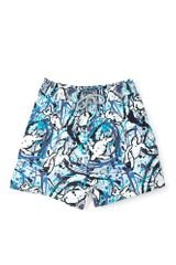 Vilebrequin Navy Drip Pollock Print Swimshorts in Blue for Men (navy) - Lyst