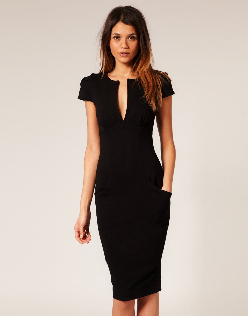 Little Black Dress With Pockets - RP Dress