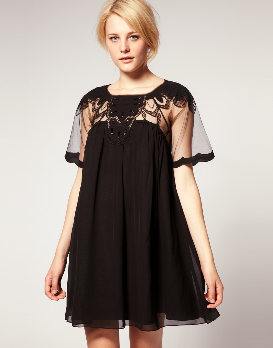 Asos Black Dress