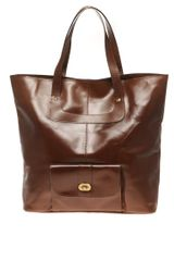 ASOS Collection Asos Leather 70s Shopper - Lyst