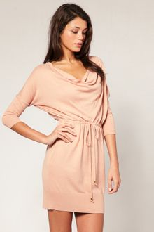 ASOS Collection Asos Cowl Neck Knitted Dress - Lyst
