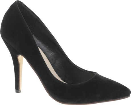 Asos Asos Shimmy Pointed Court Shoe in Black - Lyst