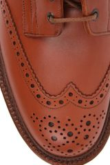 Tricker's Trickers Molton Brogue Boots in Brown for Men (tan) - Lyst